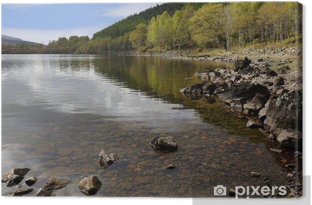 Obraz na płótnie Loch Lochy - Krajobraz wiejski