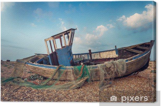 Obraz na płótnie Łódź rybacka archiwalne - Europa