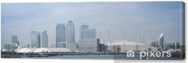 Obraz na płótnie London City skyline panorama - Europa