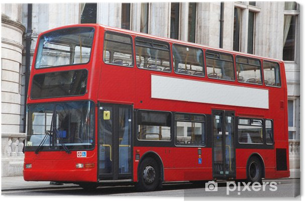 Obraz na płótnie London double Decker czerwony autobus - Transport drogowy