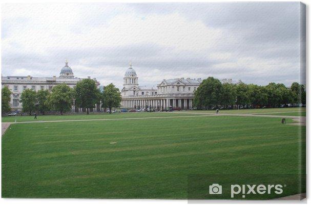 Obraz na płótnie Londra - Greenwich - Budynki użyteczności publicznej