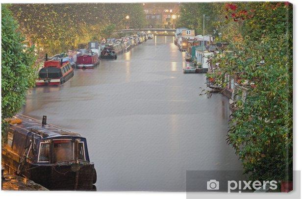 Obraz na płótnie Londyn, Little Venice - Miasta europejskie