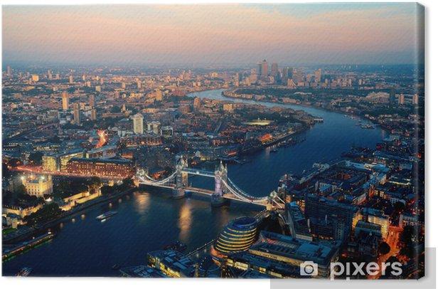 Obraz na płótnie Londyn noc -