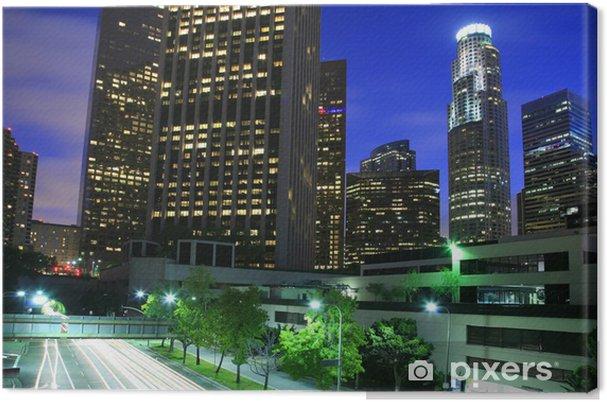 Obraz na płótnie Los Angeles miasto na zmierzchu - Tematy