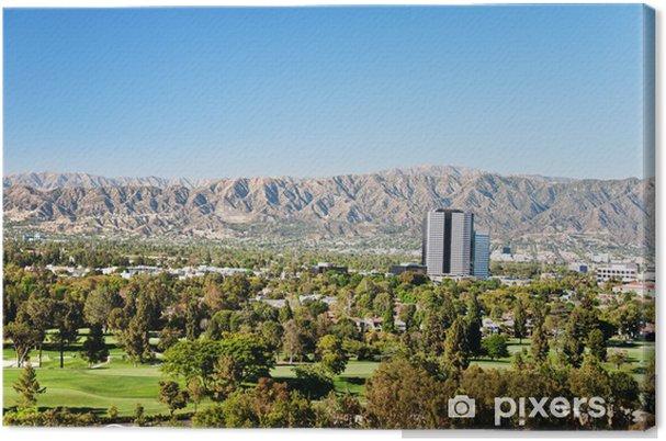 Obraz na płótnie Los Angeles view - Cuda natury