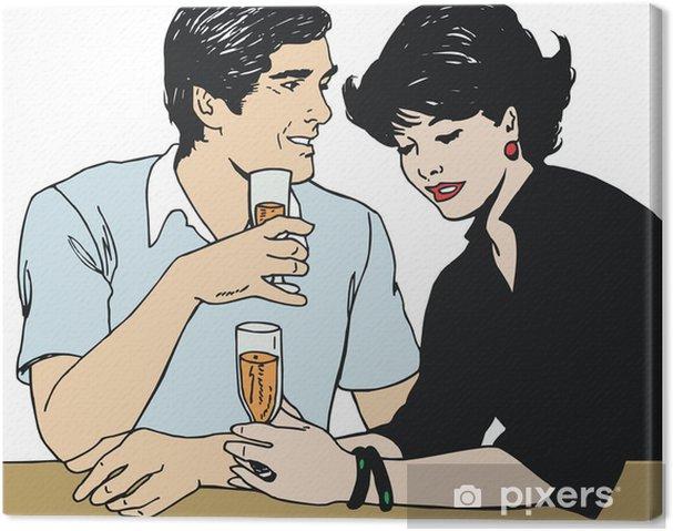 Obraz na płótnie Loving para - Tematy