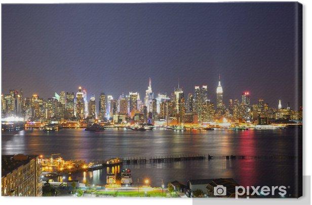 Obraz na płótnie Lower Manhattan Skyline - Miasta amerykańskie