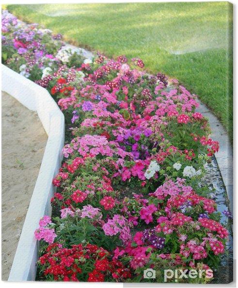 Obraz na płótnie Łóżko z kwiatów - Kwiaty