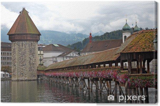 Obraz na płótnie Lucerna - Europa