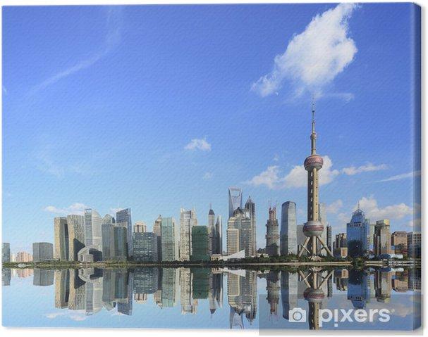 Obraz na płótnie Lujiazui Finance & Trade Zone Shanghai Skyline w Nowym attractio - Miasta azjatyckie