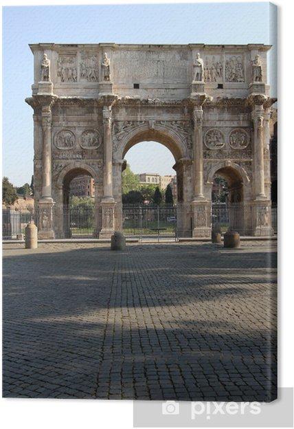 Obraz na płótnie Łuk Konstantyna w Rzymie - Miasta europejskie