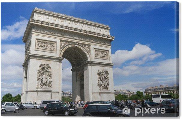 Obraz na płótnie Łuk triumfalny Paryż, Francja - Zabytki