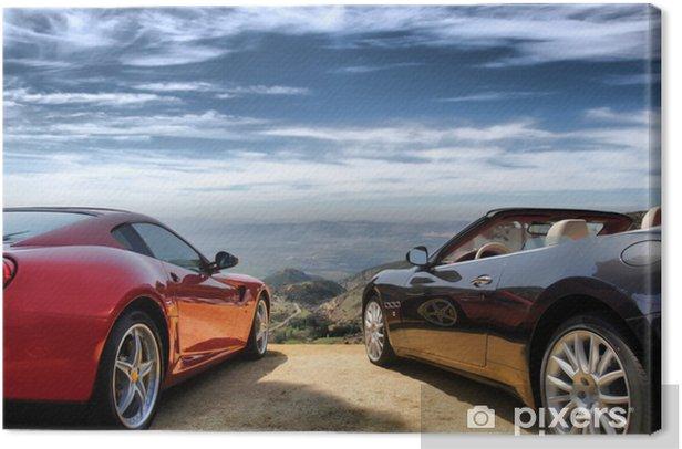 Obraz na płótnie Luksusowe nowoczesne samochody - Transport drogowy