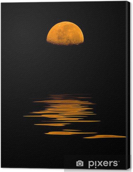 Obraz na płótnie Luna Rossa - Niebo