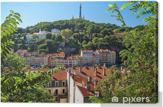 Obraz na płótnie Lyon, Francja - Pejzaż miejski