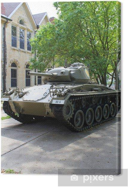 Obraz na płótnie M24 kawiarnie Zbiornik patenty USA wojsko - Transport drogowy