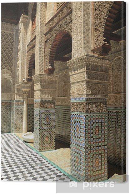 Obraz na płótnie Madrasa Al-Karawijjin - Afryka