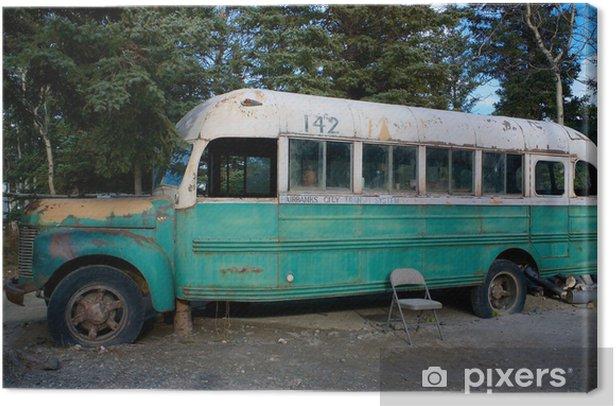 Obraz na płótnie Magiczny Autobus 142 z filmu Into The Wild - Ameryka