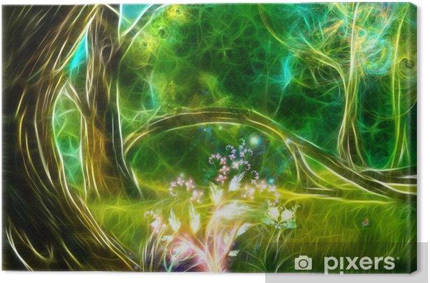 Obraz na płótnie Magiczny las - Tematy