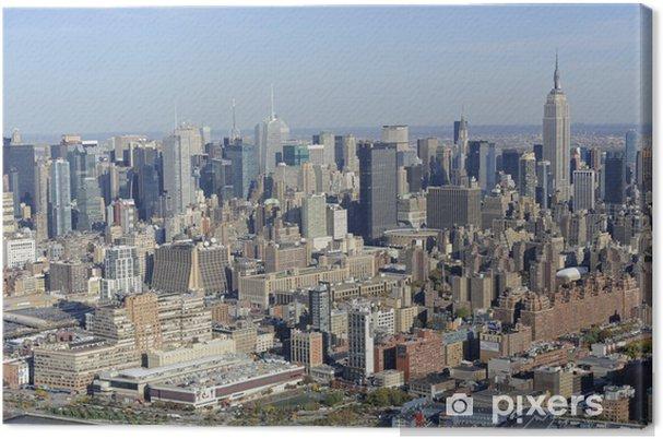 Obraz na płótnie Mahattan - Miasta amerykańskie