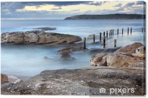 Obraz na płótnie Mahon ocean rock basen Maroubra Australia - Tematy