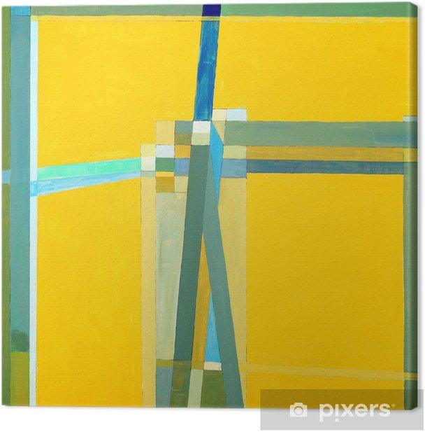 Obraz na płótnie Malarstwo abstrakcyjne - Nauki stosowane i ścisłe