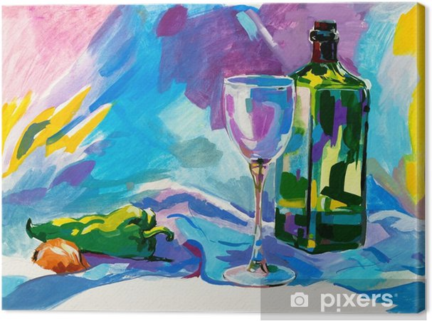 Obraz na płótnie Malarstwo akwarelowe - Hobby i rozrywka
