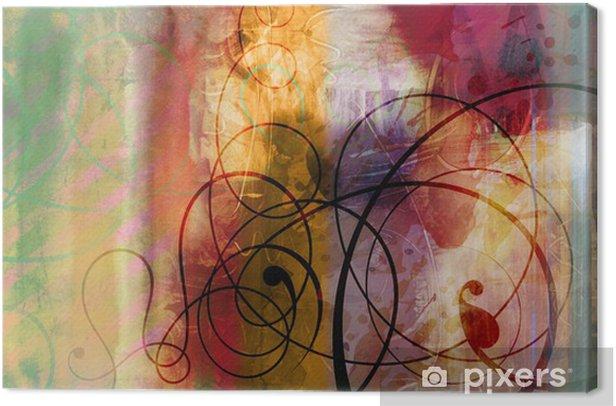 Obraz na płótnie Malarstwo, grafikę dekoracji tekstury - Sztuka i twórczość