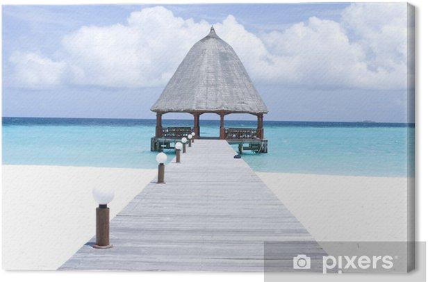 Obraz na płótnie Malediwy - Woda