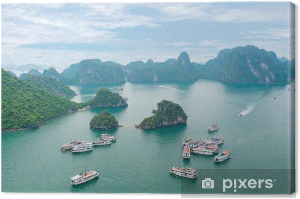 Obraz na płótnie Malowniczy krajobraz morze. Halong, Wietnam - Azja
