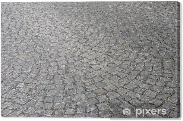 Obraz na płótnie Mały kamienny bruk - Przemysł ciężki