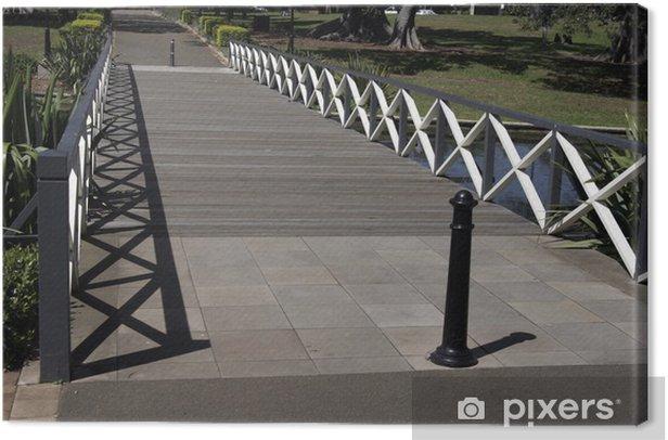 Obraz na płótnie Mały most - Infrastruktura
