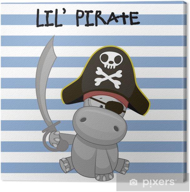 Obraz na płótnie Mały pirat - Ssaki
