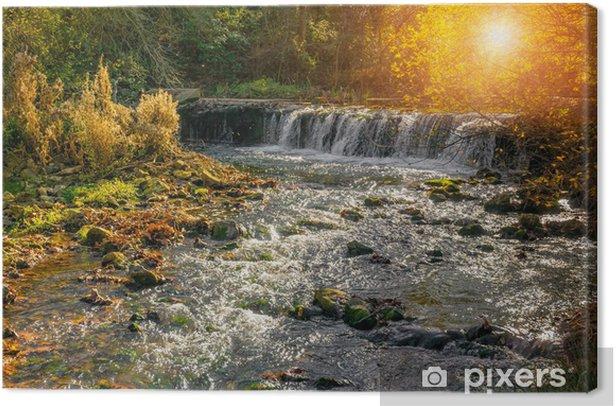 Obraz na płótnie Mały strumień w Prowansji - Inne pejzaże