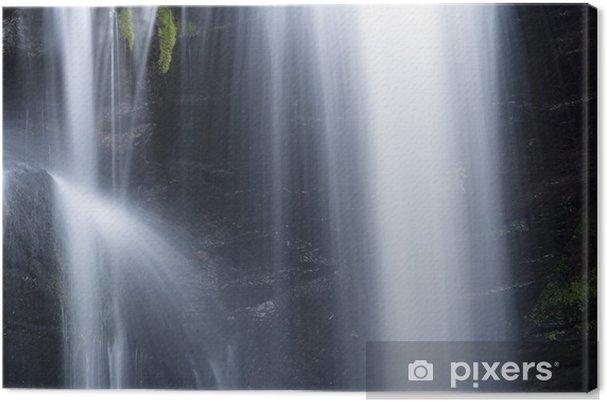 Obraz na płótnie Mały wodospad Part - Woda