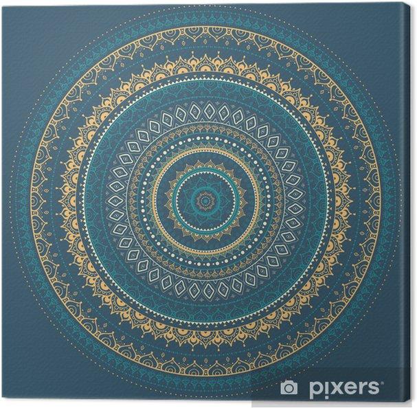 Obraz na płótnie Mandala. indian wzór dekoracyjny. - Style