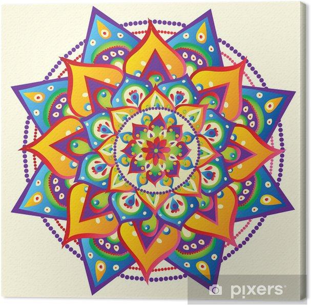 Obraz na płótnie Mandala - Style