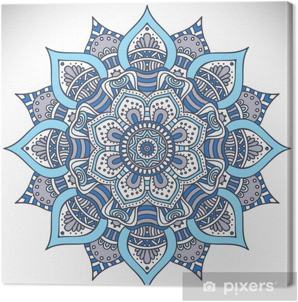 Obraz na płótnie Mandala - Tekstury