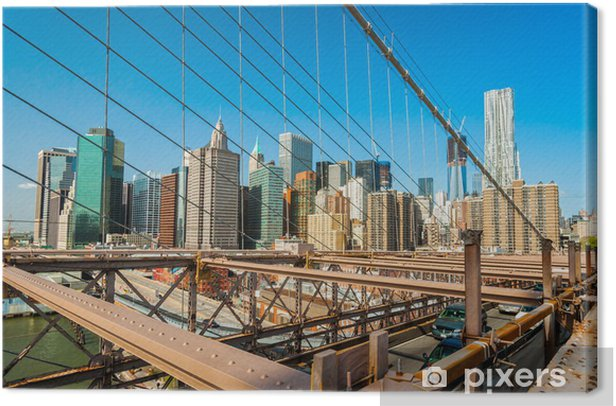 Obraz na płótnie Manhattan, Nowy Jork. USA. - Miasta amerykańskie