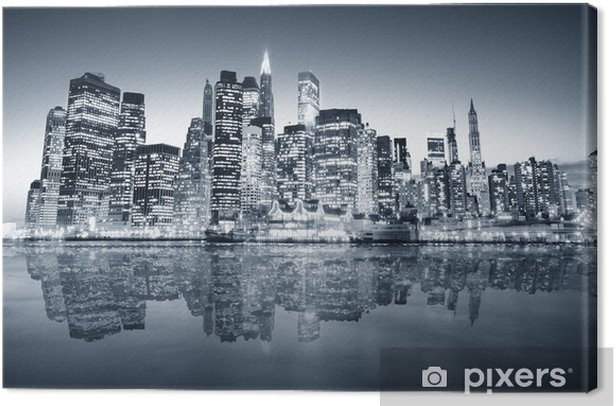 Obraz na płótnie Manhattan Nowy Jork -