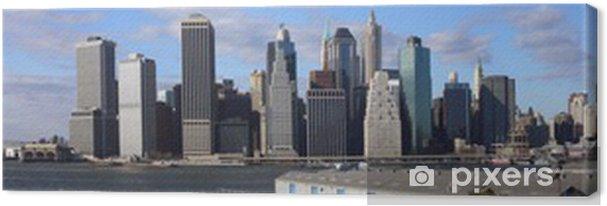 Obraz na płótnie Manhattan - Pejzaż miejski