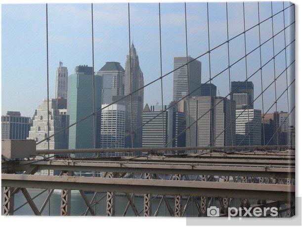 Obraz na płótnie Manhattan - Miasta amerykańskie