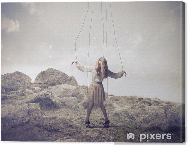 Obraz na płótnie Marionetka - Kobiety