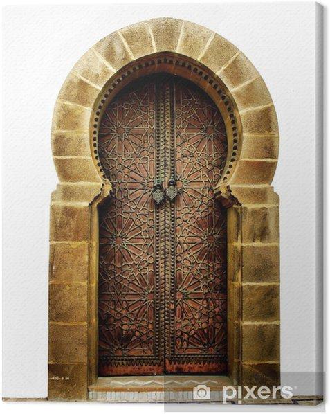 Obraz na płótnie Marokański drzwi - iStaging