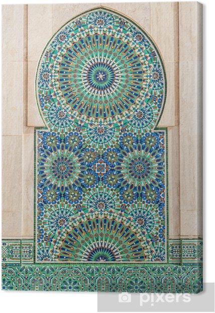 Obraz na płótnie Marokański rocznika tło płytek - iStaging