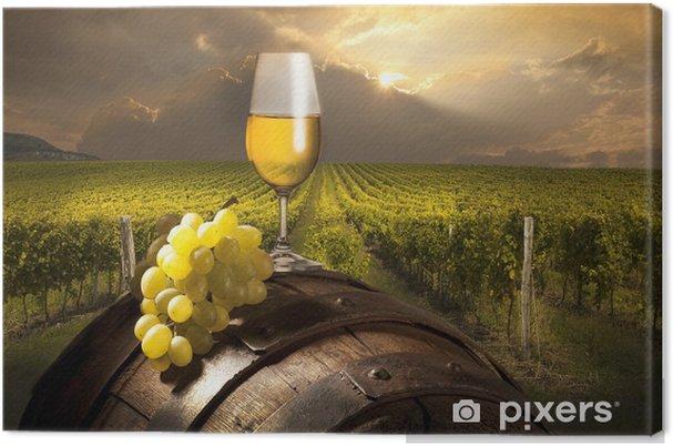 Obraz na płótnie Martwa natura z białego wina - Tematy