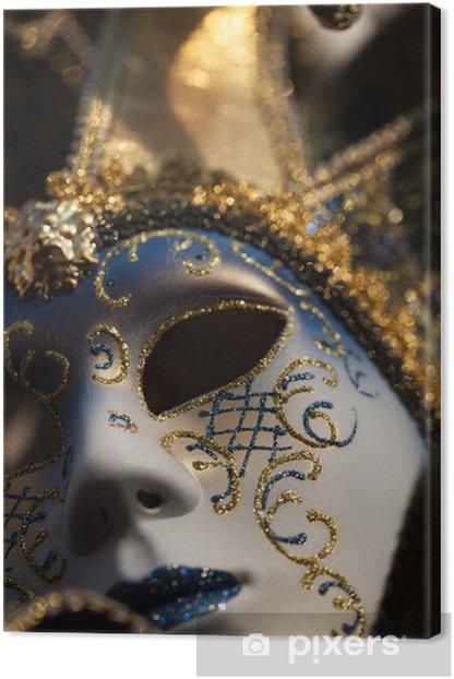 Obraz na płótnie Maska karnawałowa, Wenecja, Włochy - Wakacje