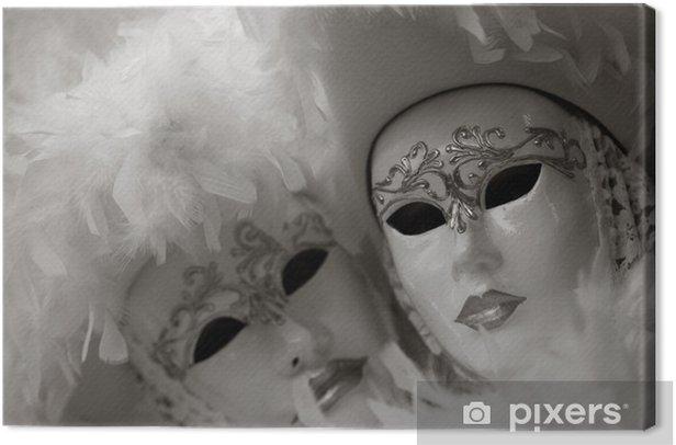 Obraz na płótnie Maska na karnawał, Piazza San Marco, Wenecja, Włochy - Wakacje
