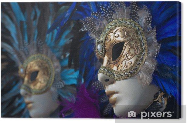 Obraz na płótnie Maski karnawałowe w Wenecji - Rozrywka