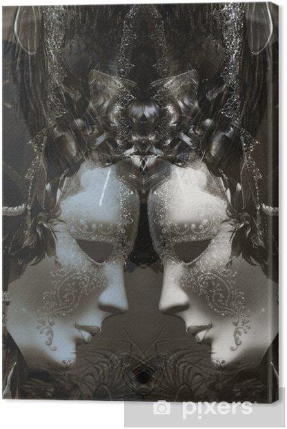 Obraz na płótnie Maski w Wenecji - Miasta europejskie